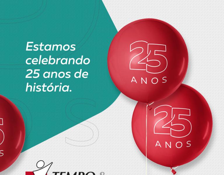 TEMPO & TRABALHO 25 ANOS!